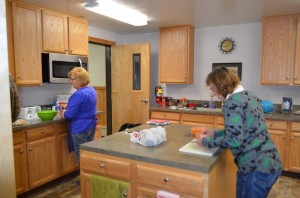 Nome Covenant kitchen.